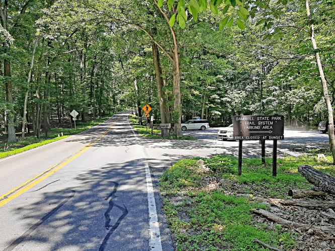 Gambrill Park Road Bike Climb - PJAMM Cycling