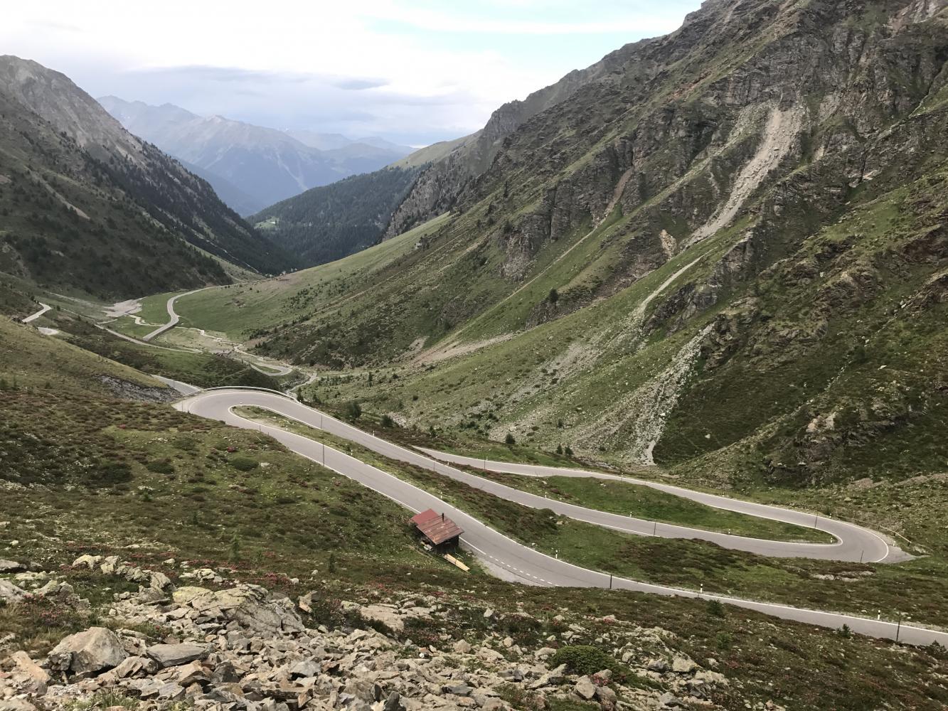 Umbrail Pass Bike Climb - PJAMM Cycling
