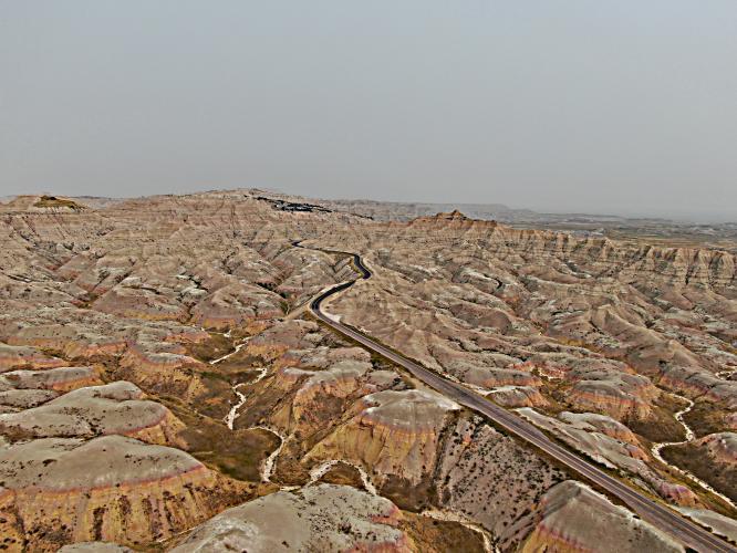Pinnacles Overlook - Badlands Bike Climb - PJAMM Cycling