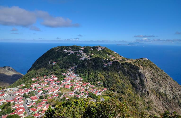 Saba Island Bike Climb - PJAMM Cycling