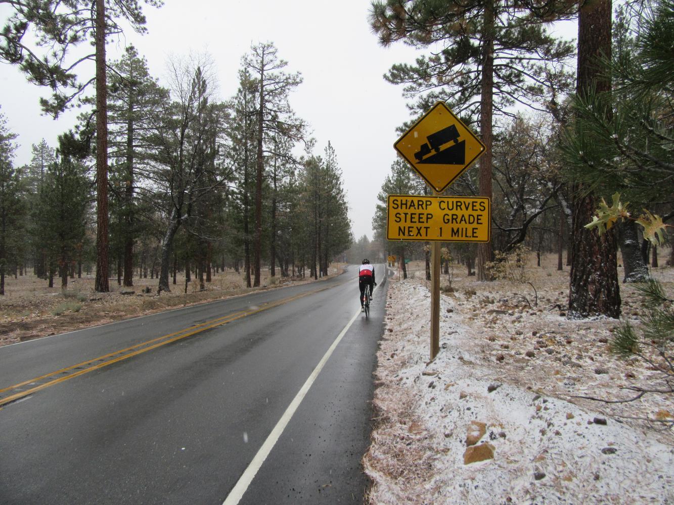 Onyx Summit Bike Climb - PJAMM Cycling