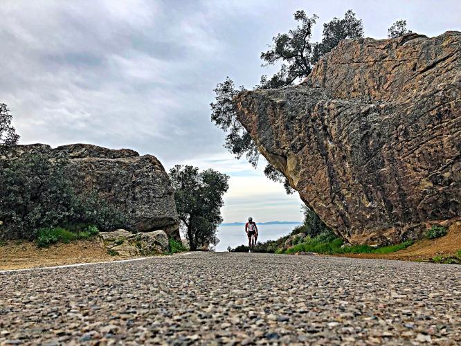 San Marcos - Painted Cave Bike Climb - PJAMM Cycling