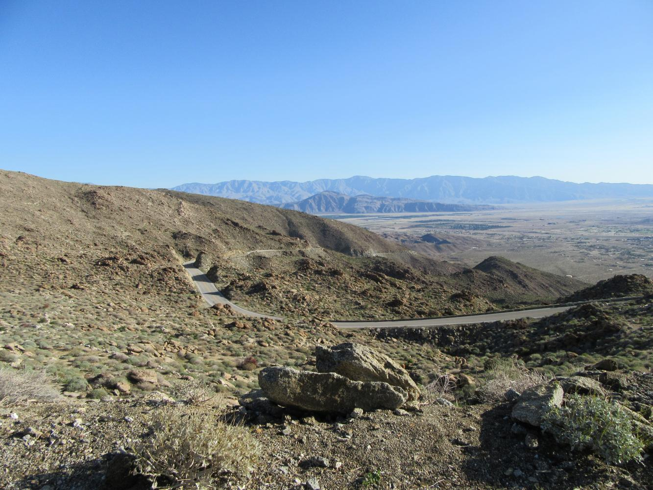 Montezuma Borrego Highway Bike Climb - PJAMM Cycling