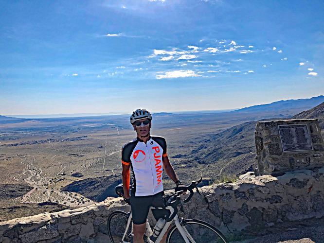 Montezuma Borrego Highway Bike Climb - PJAMM Cycling