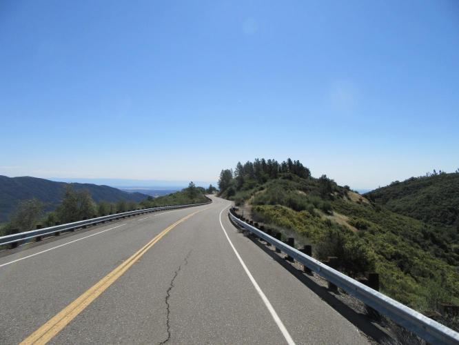Alder Springs Road Bike Climb - PJAMM Cycling