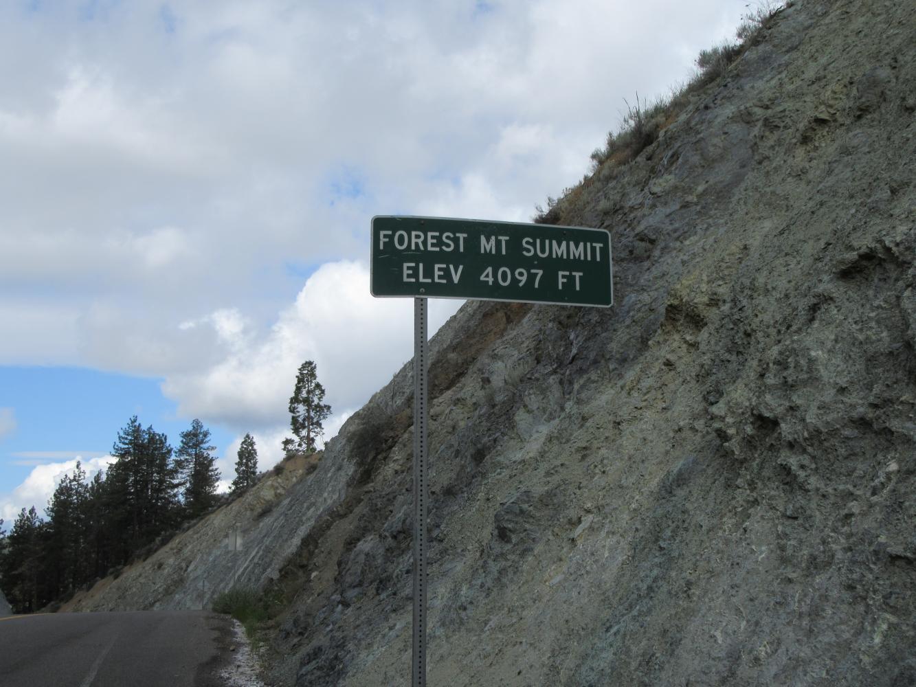 Forest Mt. Summit East Bike Climb - PJAMM Cycling