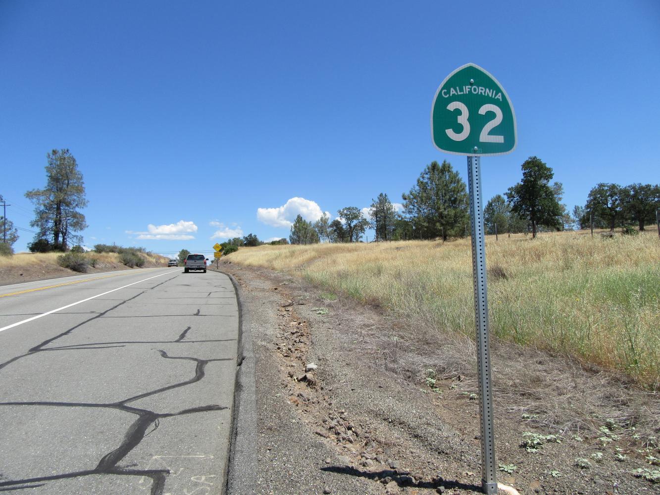 Hwy 32 (Chico) Bike Climb - PJAMM Cycling