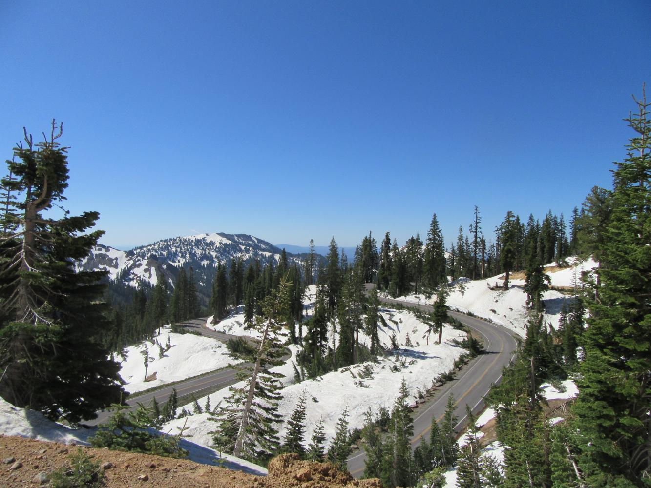 Mt. Lassen South Bike Climb - PJAMM Cycling