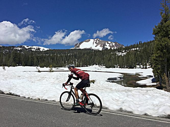Mt. Lassen North Bike Climb - PJAMM Cycling