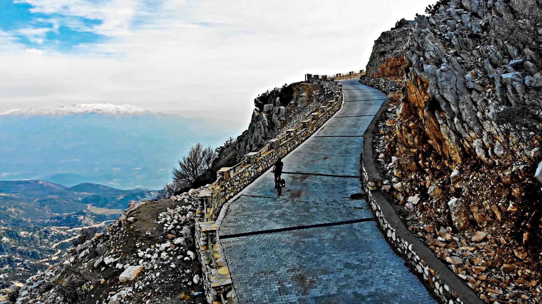 Cycling Climb - Mount Babadag - Turkey, Muğla