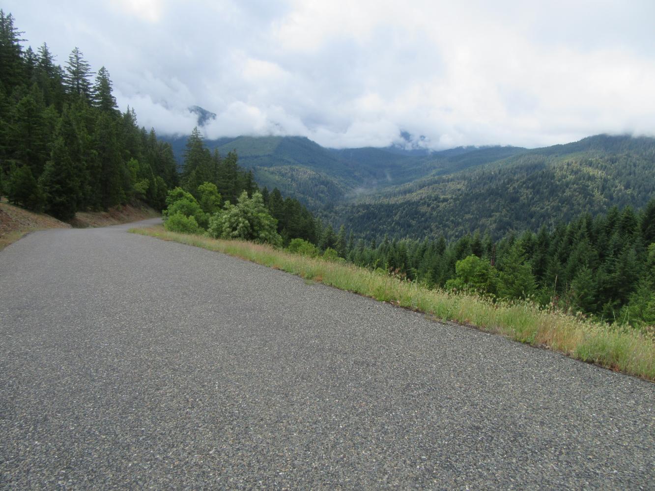 Cedar Flats Bike Climb - PJAMM Cycling