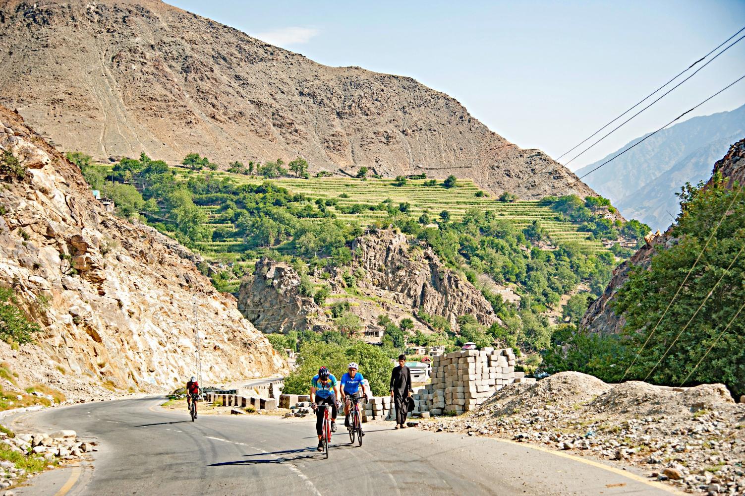 Cycling Climb - Babusar Pass - Pakistan, null