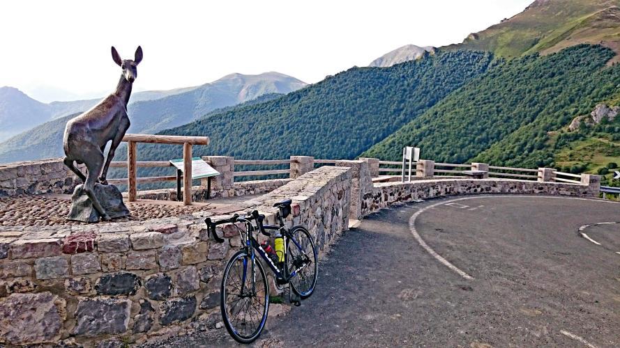 Puerto San Glorio Bike Climb - PJAMM Cycling