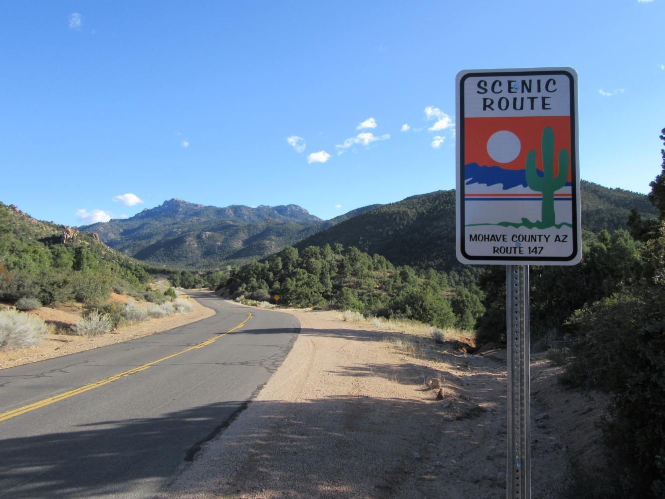 Hualapai Mt. Road Bike Climb - PJAMM Cycling