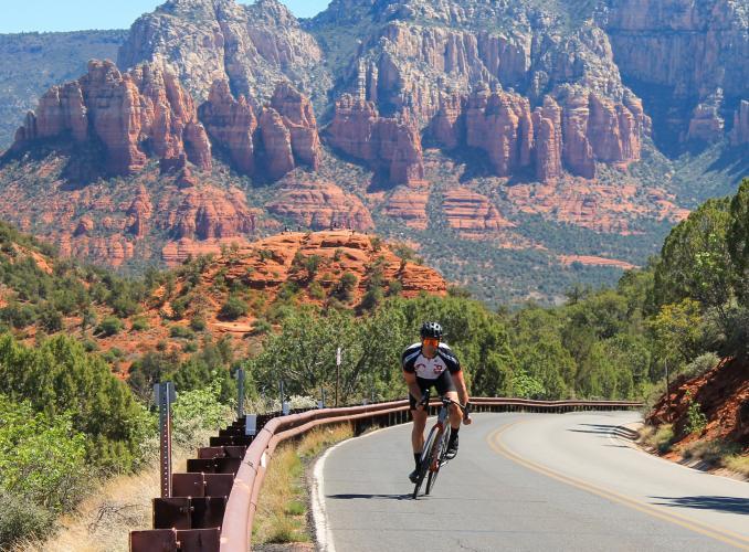 Sedona  Bike Climb - PJAMM Cycling