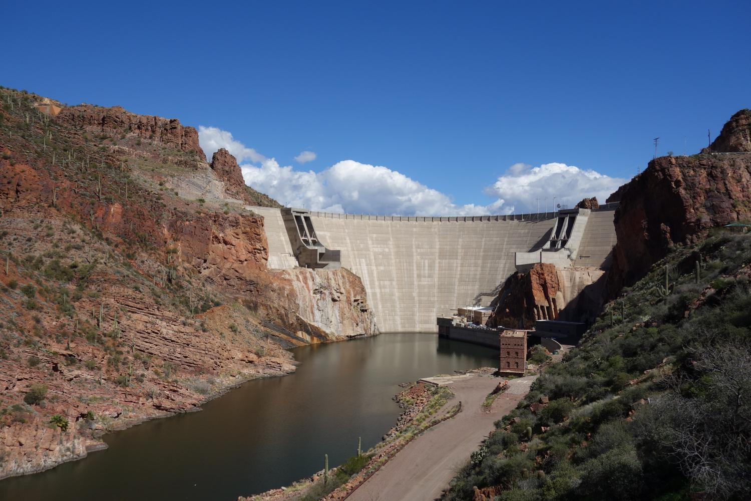 Apache Junction to Roosevelt Dam Bike Climb - PJAMM Cycling