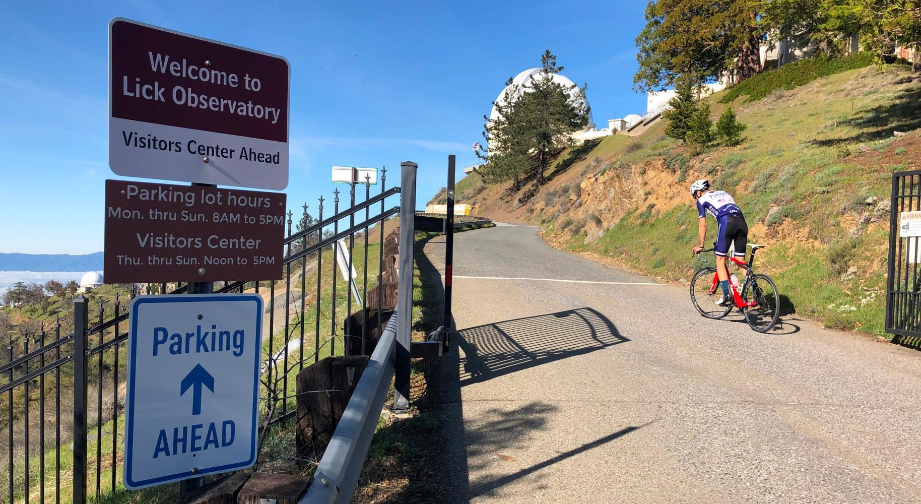 Mt. Hamilton East Bike Climb - PJAMM Cycling
