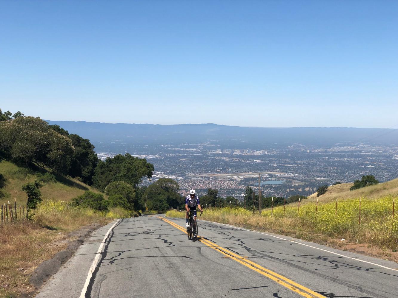 Quimby Road Bike Climb - PJAMM Cycling
