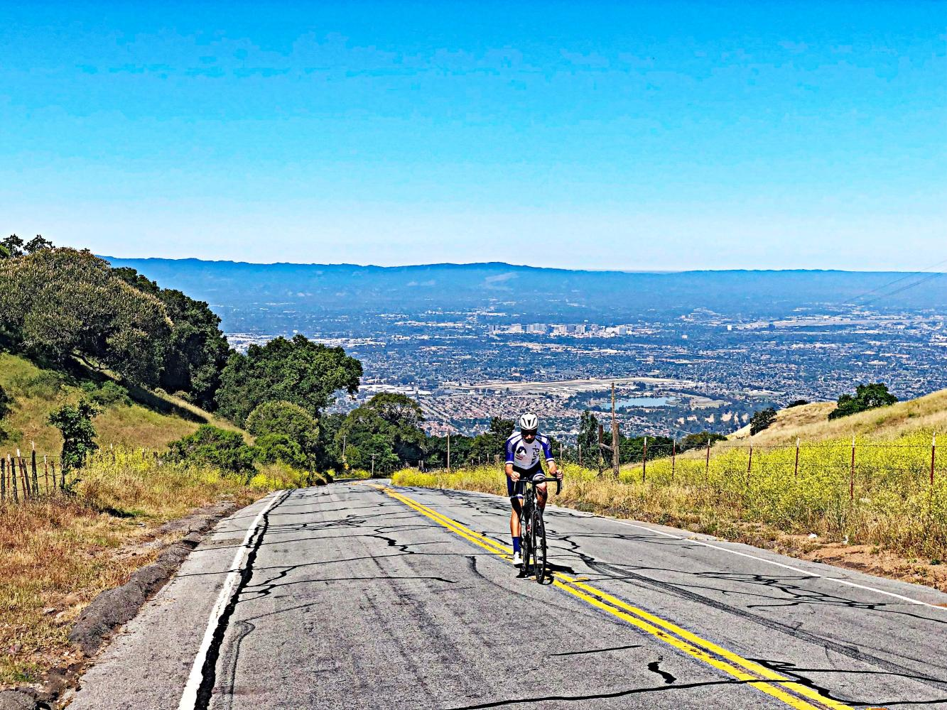 Quimby Road Bike Climb - PJAMM Cycling