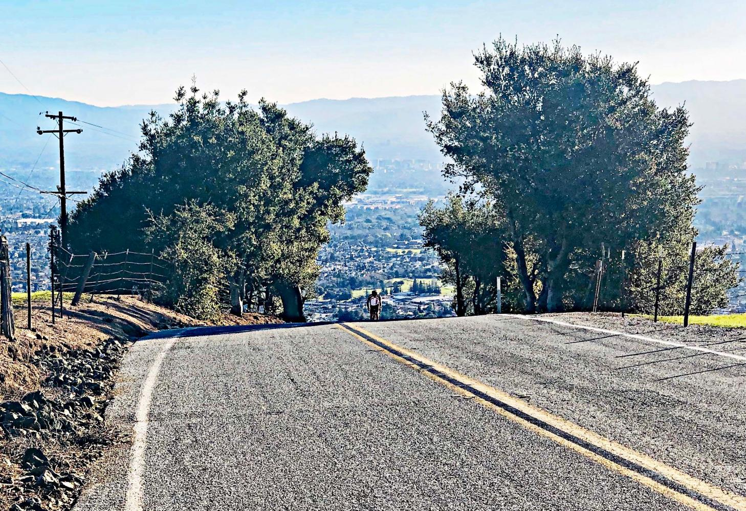 Sierra Road Bike Climb - PJAMM Cycling