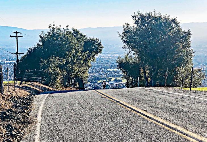 Sierra Road Bike Climb - PJAMM Cycling