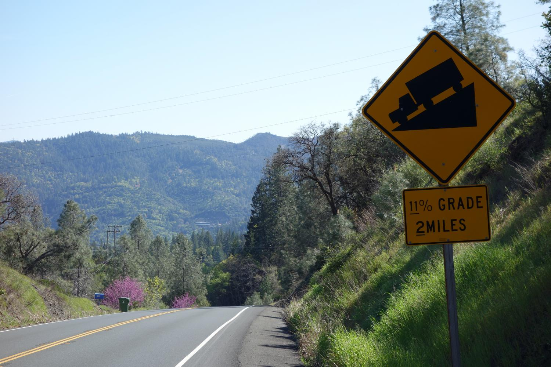 Hwy 175 - Cobb Mountain Bike Climb - PJAMM Cycling