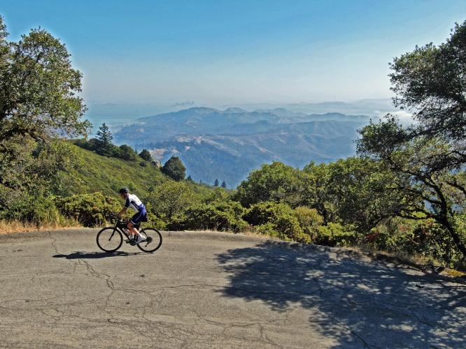 Mt. Tam via Fairfax-Bolinas Road Bike Climb - PJAMM Cycling