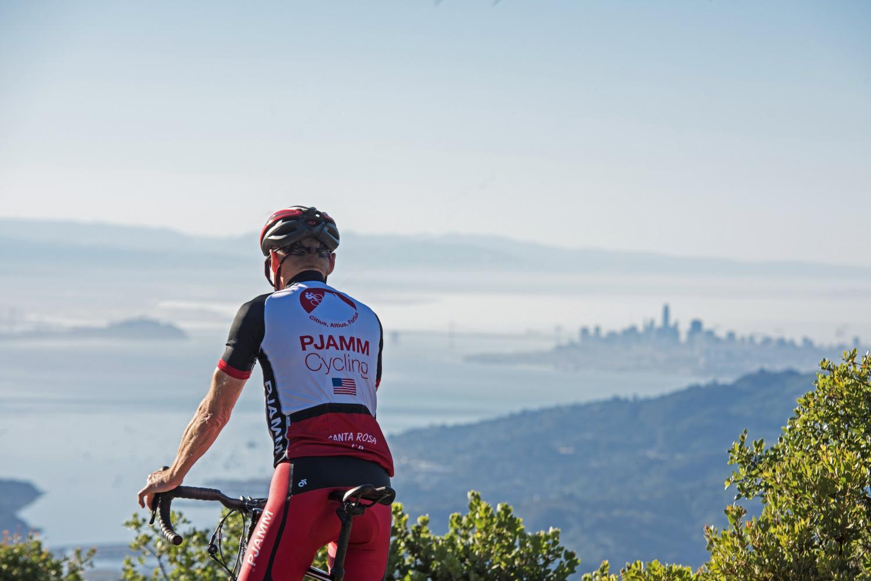 Mt. Tam via Panoramic Hwy South Bike Climb - PJAMM Cycling