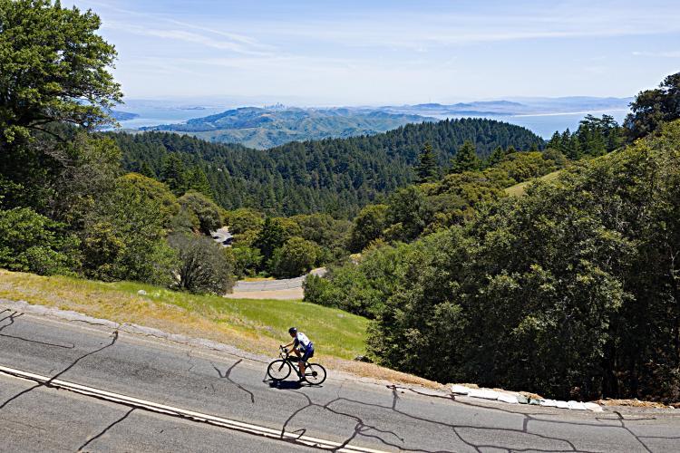 Mt. Tam via  Hwy 1 South Bike Climb - PJAMM Cycling