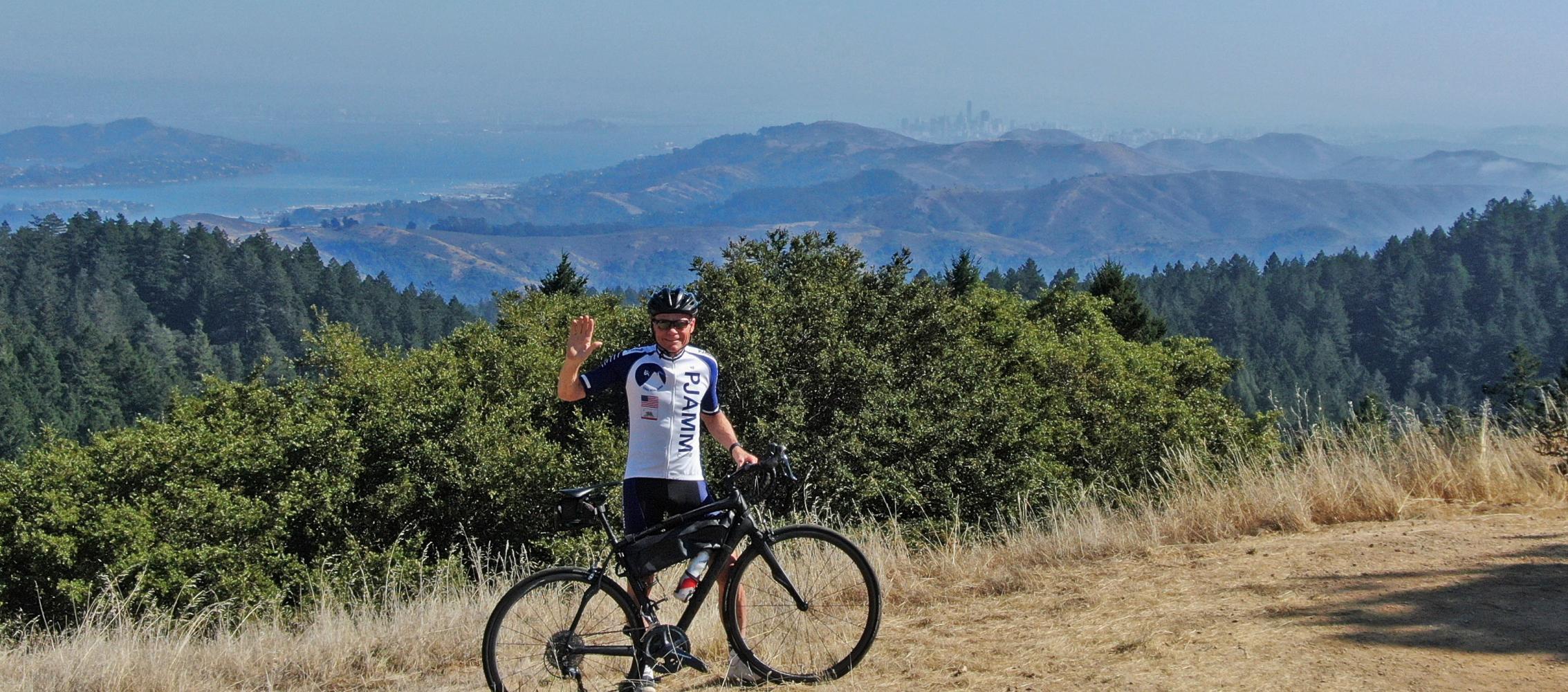 Mt. Tam via Panoramic Hwy North Bike Climb - PJAMM Cycling