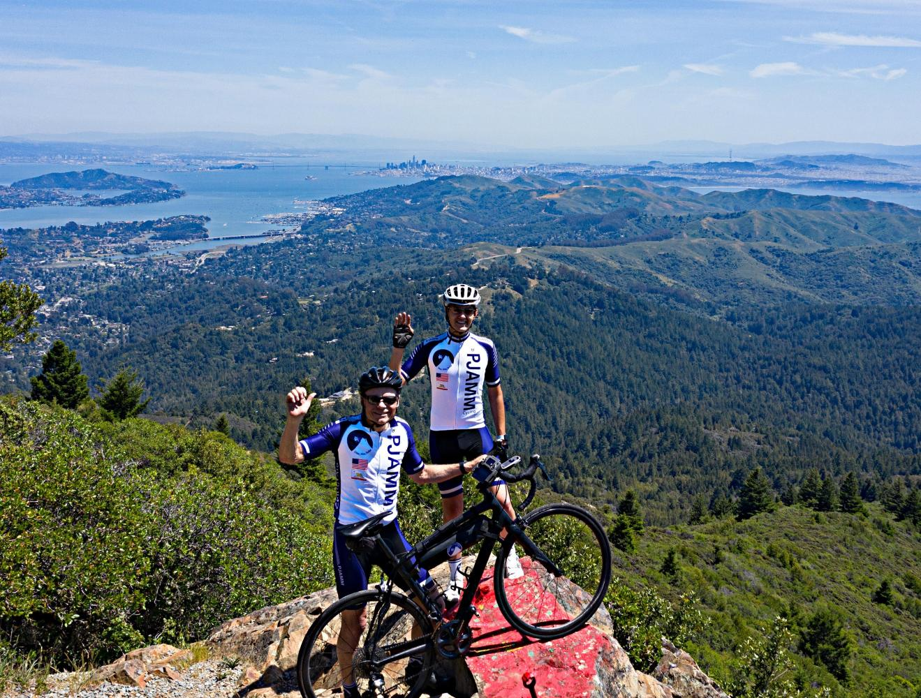 Mt. Tam via Panoramic Hwy North Bike Climb - PJAMM Cycling