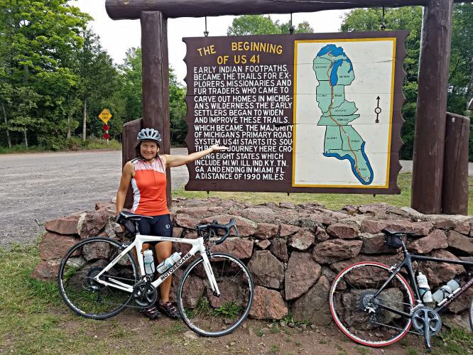Brockway Mountain Bike Climb - PJAMM Cycling