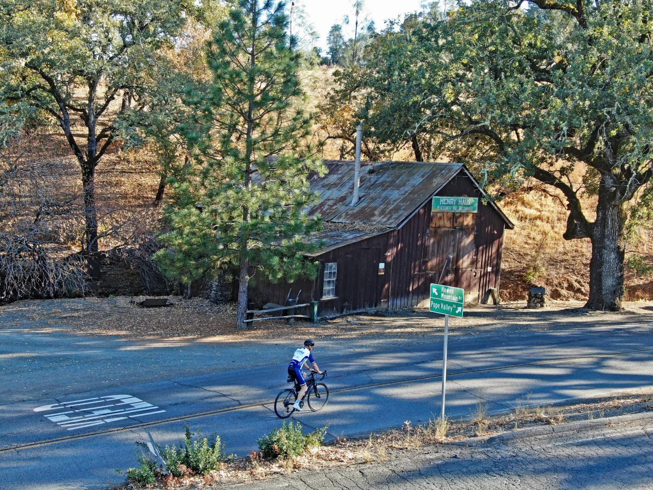 Howell Mountain Road Bike Climb - PJAMM Cycling