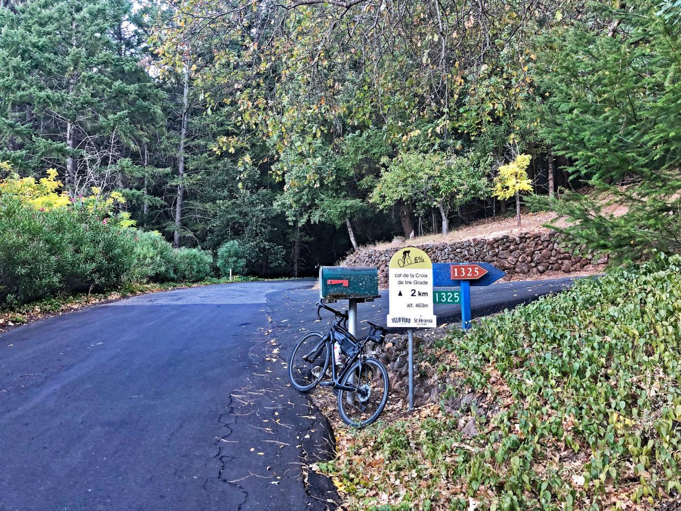 Ink Grade Road Bike Climb - PJAMM Cycling