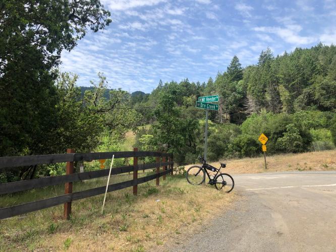 Mt. Veeder North  Bike Climb - PJAMM Cycling
