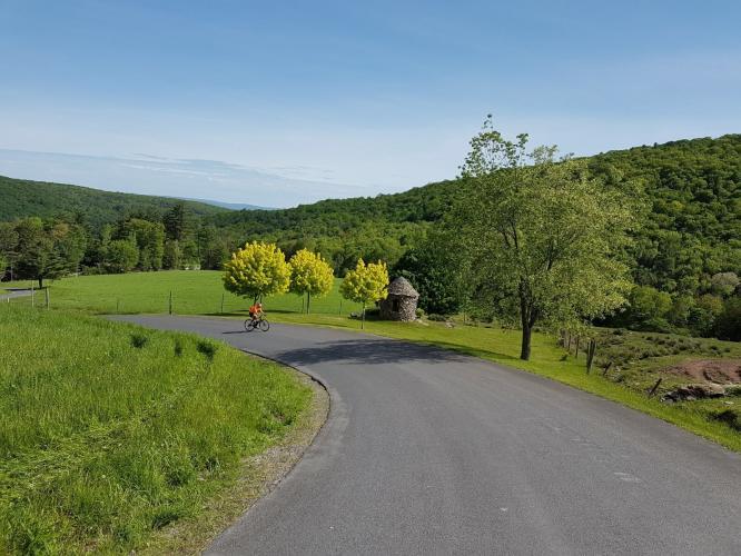 Glade Hill Road Bike Climb - PJAMM Cycling