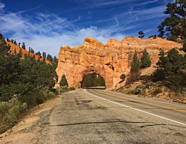 Bryce NP - Thunder TH - Inspiration Point Bike Climb - PJAMM Cycling