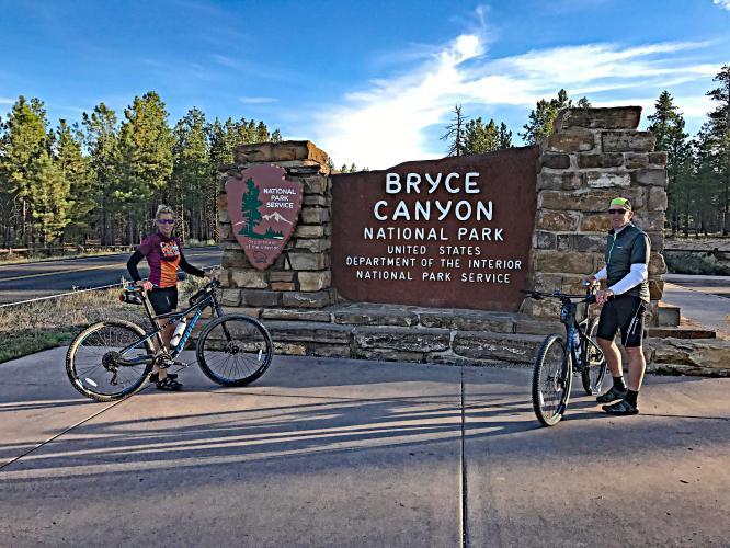 Bryce NP - Thunder TH - Rainbow Point Bike Climb - PJAMM Cycling