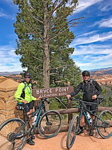 Bryce NP - Inspiration to Bryce Points Bike Climb - PJAMM Cycling