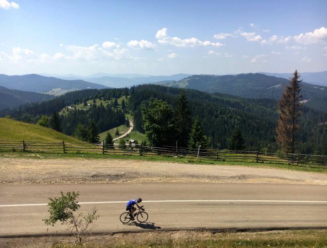 Pasul Ciumârna (West) Bike Climb - PJAMM Cycling