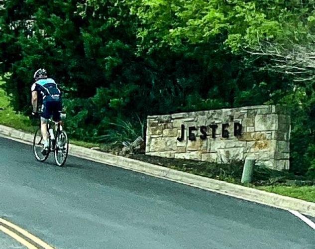 Jester Boulevard Bike Climb - PJAMM Cycling