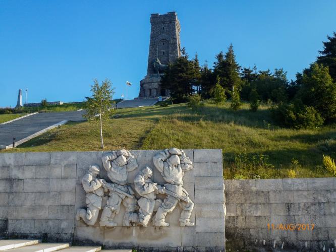 Shipka Monument North Bike Climb - PJAMM Cycling