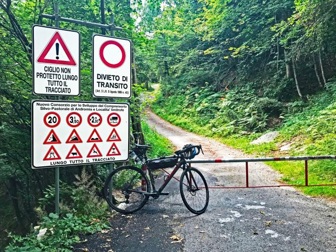 Alpe Fuori Bike Climb - PJAMM Cycling