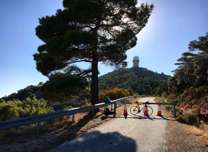 Kionia Peak Bike Climb - PJAMM Cycling