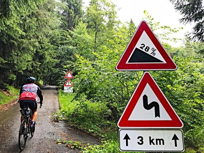 Passo della Forcella Bike Climb - PJAMM Cycling
