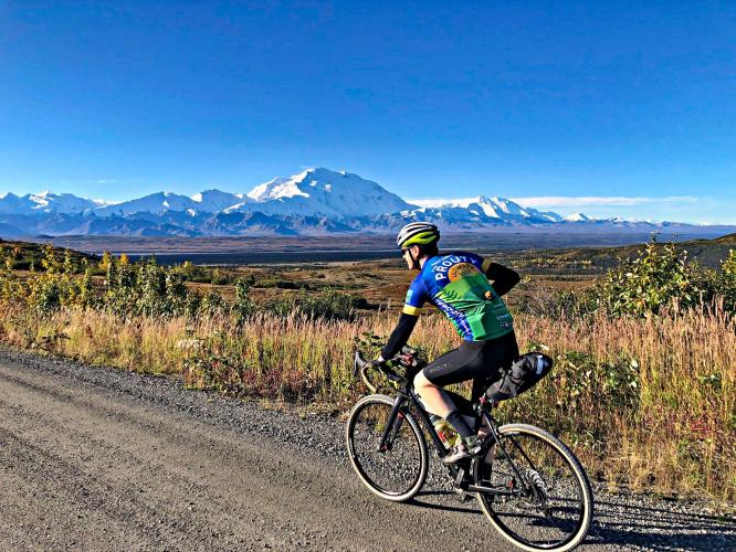 Denali NP Park Road Bike Climb - PJAMM Cycling