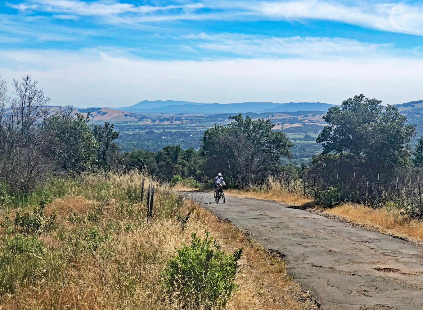 Cavedale Road Bike Climb - PJAMM Cycling