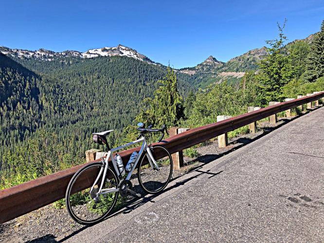Cayuse Pass Bike Climb - PJAMM Cycling