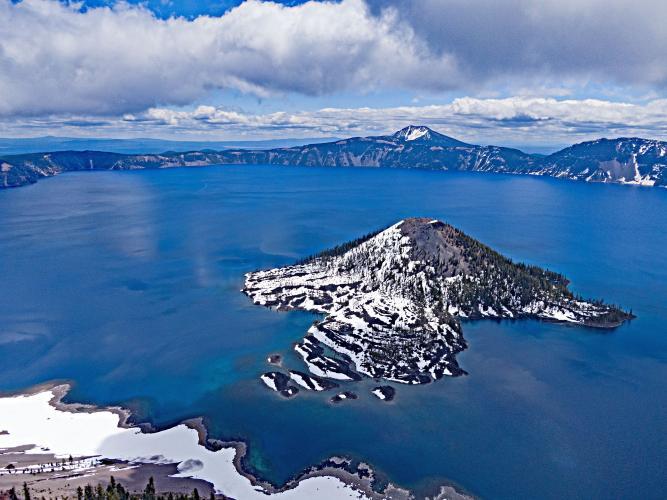 Crater Lake - Pinnacles Road  Bike Climb - PJAMM Cycling