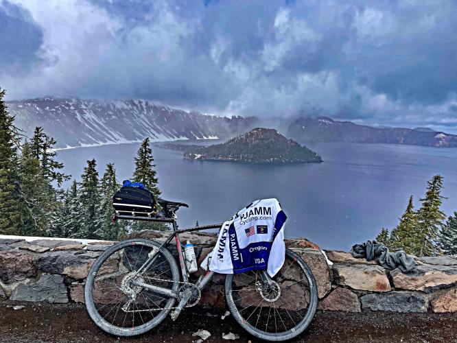 Crater Lake NP Clockwise from Hwy 62 Bike Climb - PJAMM Cycling